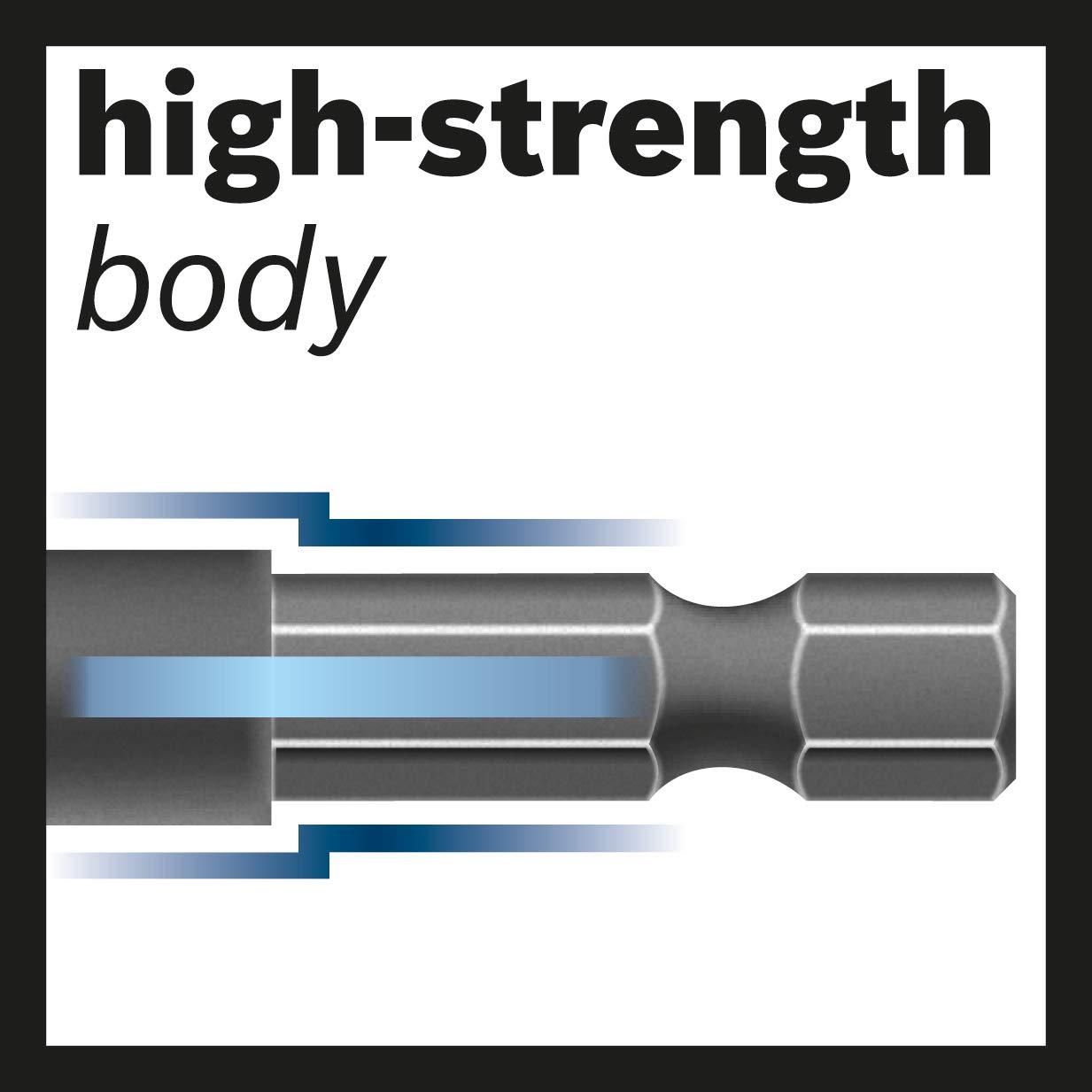 Bosch Professional 8tlg f/ür Metall, Zubeh/ör Schlagbohrmaschine Impact Control HSS Spiralbohrer Set