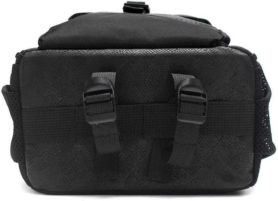 Color : Black, Size : 27.5 x 12.5 x 34CM Balalafairy-Home Waterproof Backpack Camera Bag with Padded Bag for DSLR Camera Lens Accessories Adjustable Padded Dividers