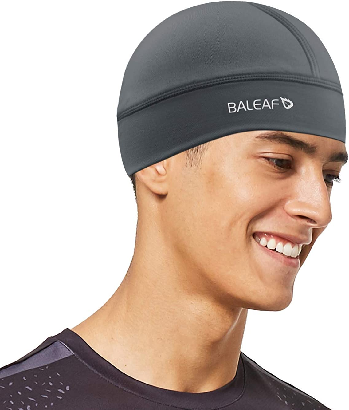BALEAF Cycling Unisex Cooling Skull Cap Helmet Liner Bicycle Biking Running for Men Women UPF 50+