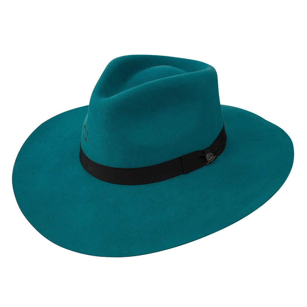 Charlie 1 Horse Hats Womens Highway 3 3/4 Brim M Teal by Charlie 1 Horse Hats