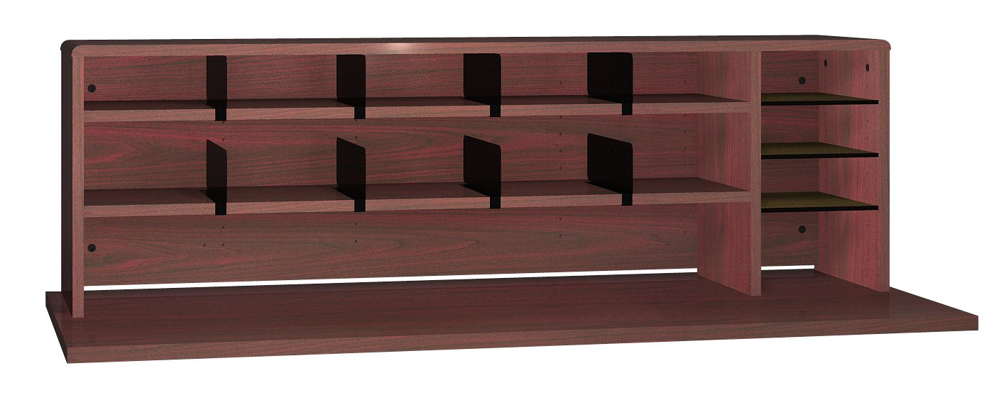 Ironwood High Capacity Desk Top Organizer, Mahogany (DTOHCMH)
