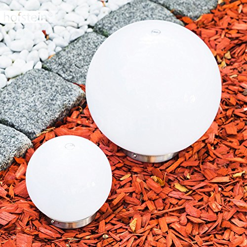 Boule lumineuse solaire LED idéale pour illuminer votre jardin ...