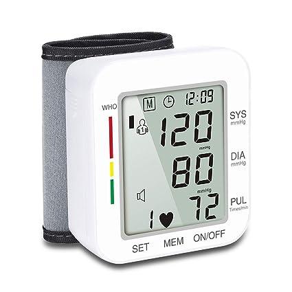 CQ Monitor De Presión Arterial Digital Brazalete Grande Tipo Muñeca Voz Instrumento De Medición