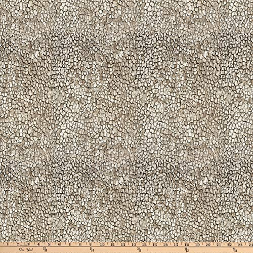 Northcott The Great Outdoors Flannel Natural Fabric by The Yard ()