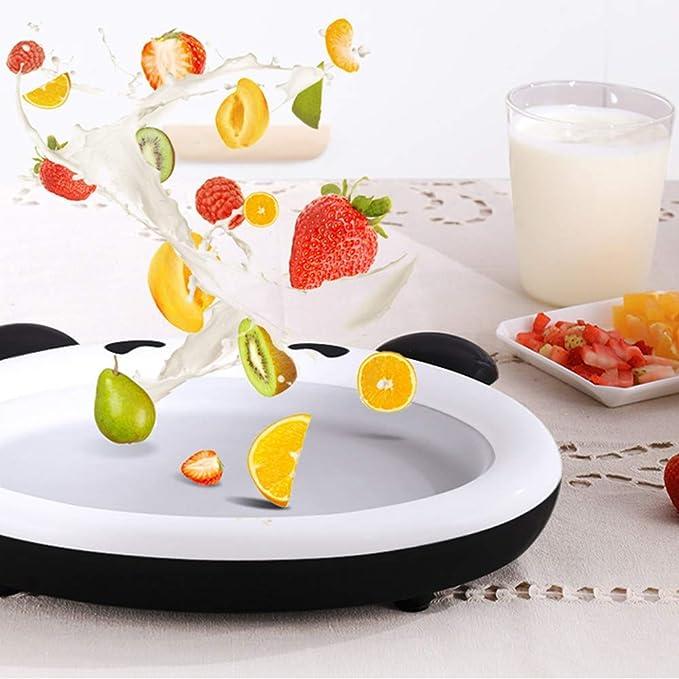 Y&J Máquina de Yogurt salteado, máquina de Hielo Frito casero ...