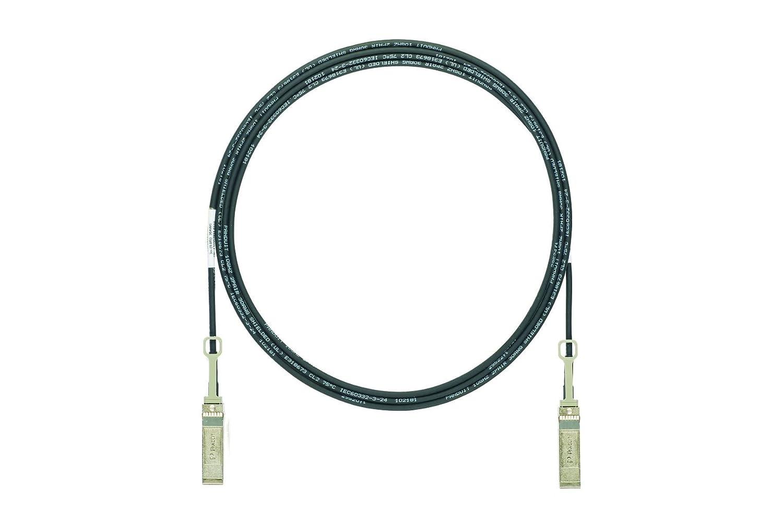 パンドウイット 10G対応 SFP+ アクティブダイレクトアタッチケーブル DAC 5M 黒 PSF1AXA5MBL   B071456114