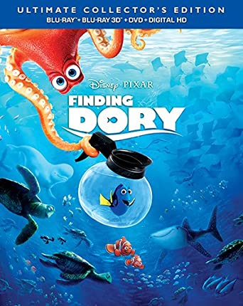 Finding Dory Blu Ray