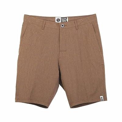 Salty Crew Hybrid Short, 34, Khaki at Men's Clothing store