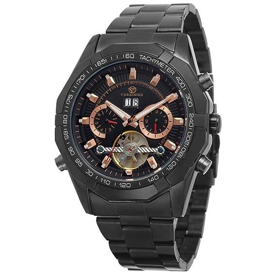 Reloj de pulsera de la marca Forsining automático, para hombre, estilo steampunk