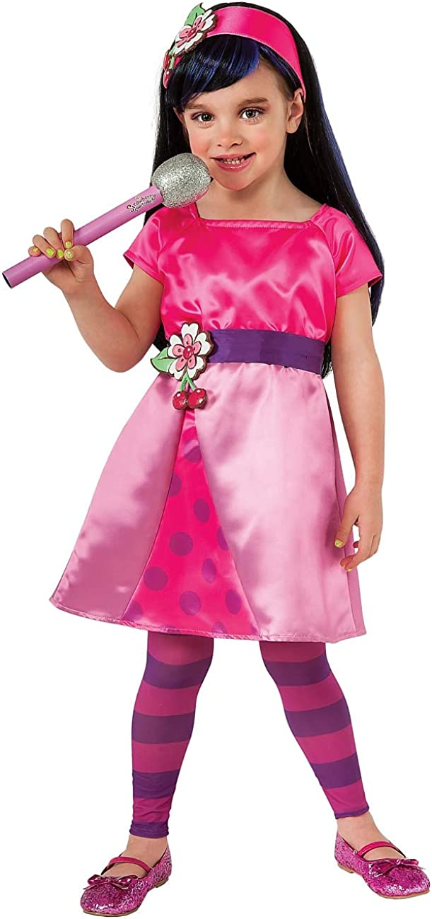 Rubies Strawberry Shortcake Girls Cherry Jam Costume Small