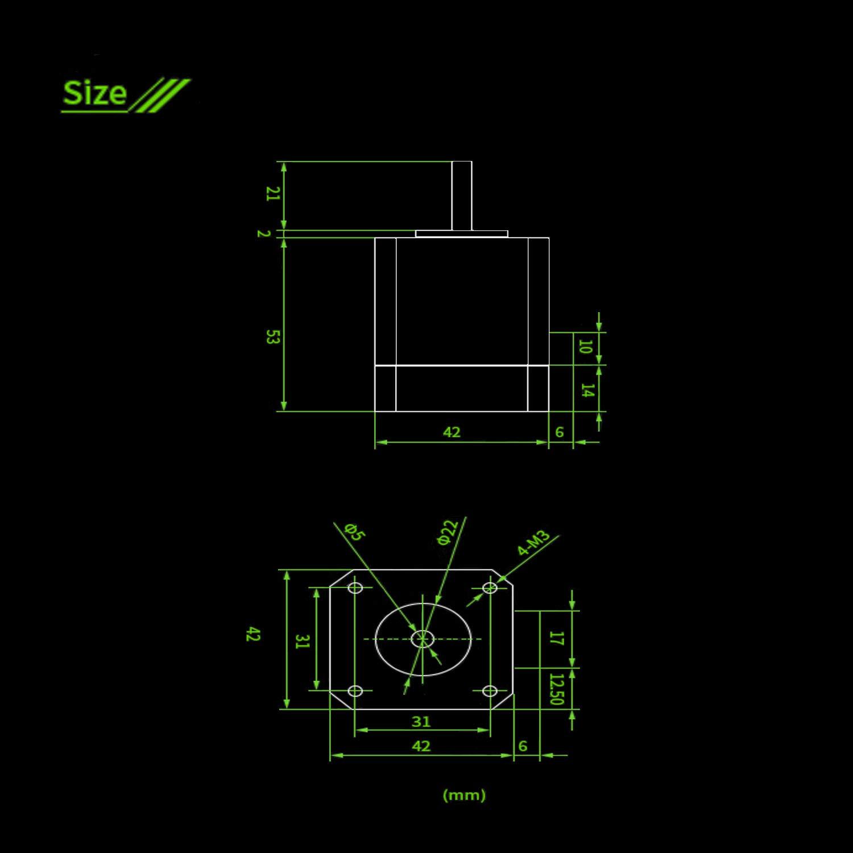 KOOKYE SERVO42B NEMA17 STM32 closed loop stepper motor Driver CNC 3d printer parts prevents losing steps for 3D Printer MKS Gen L SGen L