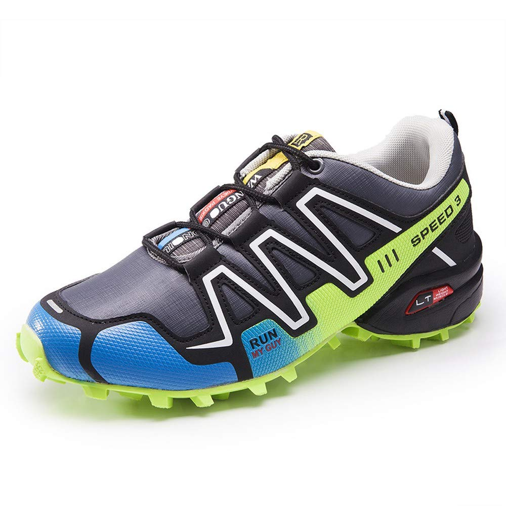 KEREE Men's Trail Running Shoes Performance Outdoors Lace Up Shoes Trail Runner