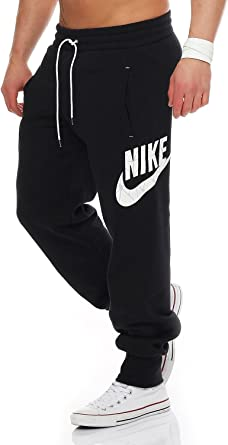 Nike Mens Jog pantalones de chándal tartrectomía Logo lateral ...