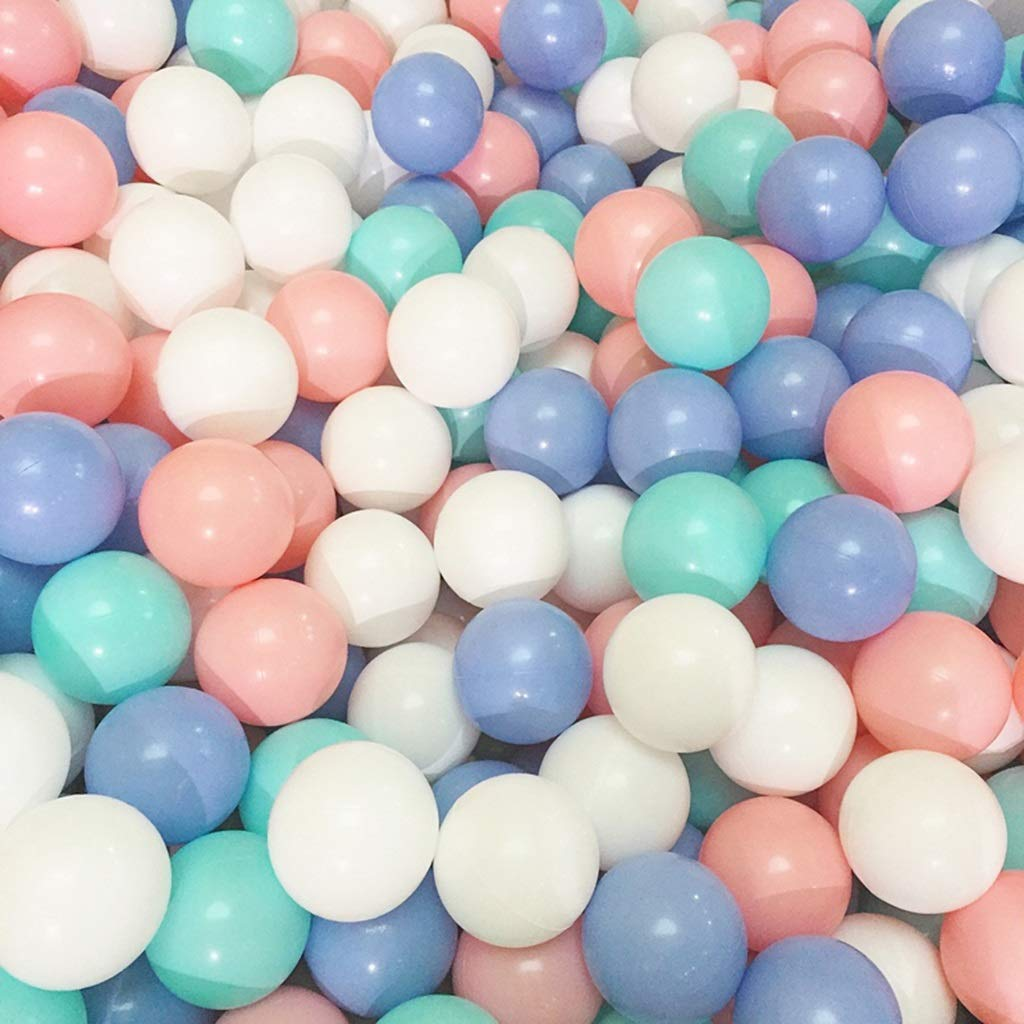 LINGLING-Ocean ball Wave Ball Macaron Solid Color Wave Ball Pool Tea Shop Room Decoration Indoor Games Children Play (Color : A, Size : 200) by LINGLING-Ocean ball