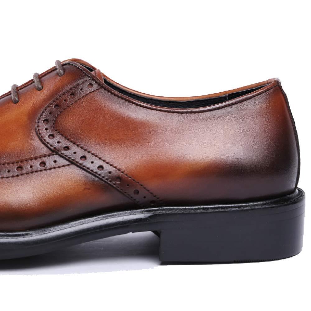 Encaje Zqzq Negocios Hombre Cuero Antideslizante De Zapatos ZXwCPqU