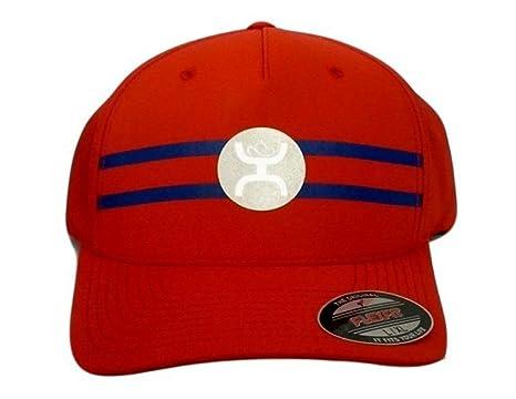 Hooey Hat -  Perf  Reflective FlexFit Cap - Red White Blue (Large X ... 93e7e517bde