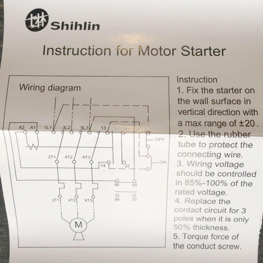 Magnetic Motor Starter Wiring Diagram For Compressor ... on