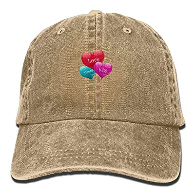 Valentine's Day Love Baseball Caps Unique Top Level Polo Style Hat For College Students