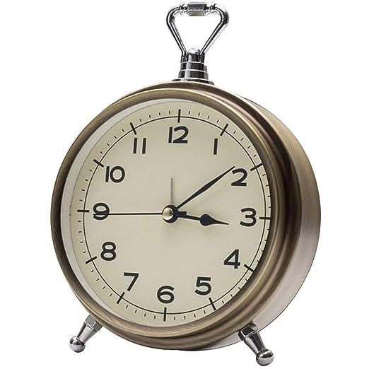 PQW Bright Despertadores mecánicos Reloj de Mesa Cerradura Bloqueo ...