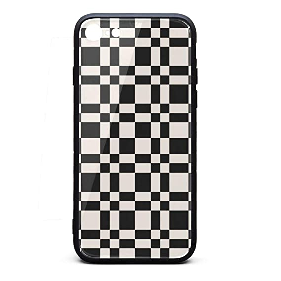 sports shoes 769d6 9897c Amazon.com: Yiastia_Minyi iPhone 6 Case, iPhone 6S Case Checkerboard ...
