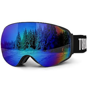 Grande Masques Ski Uv400Aération Vent Vie Homme De Verre Anti À Tomount RayureOtg Lunettes Choc Buée Double Miroité Femme LUVSMqzpG