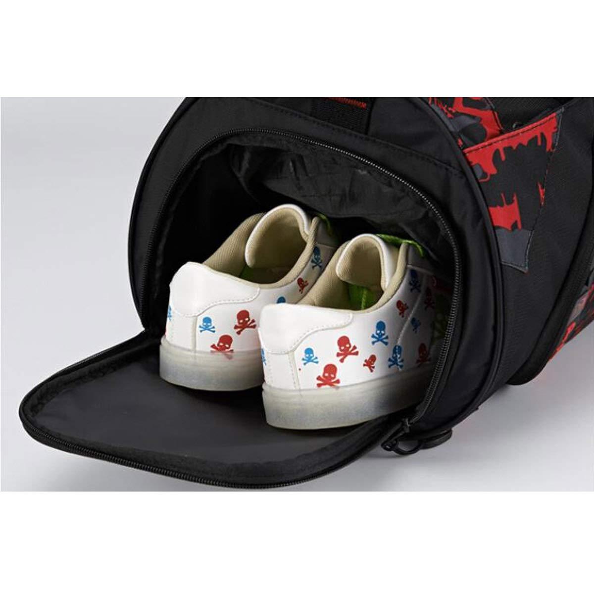 Large Size: 502626cm Safety Wet and Dry Separation Waterproof Gym Bag Mens and Womens Shoulder Bag Crossbody Portable Training Bag Large-Capacity Travel Bag Hongyuantongxun Sports Bag