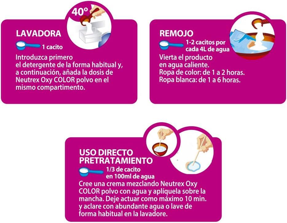 Neutrex Oxy Color Quitamanchas sin Lejía, Producto para el Hogar ...