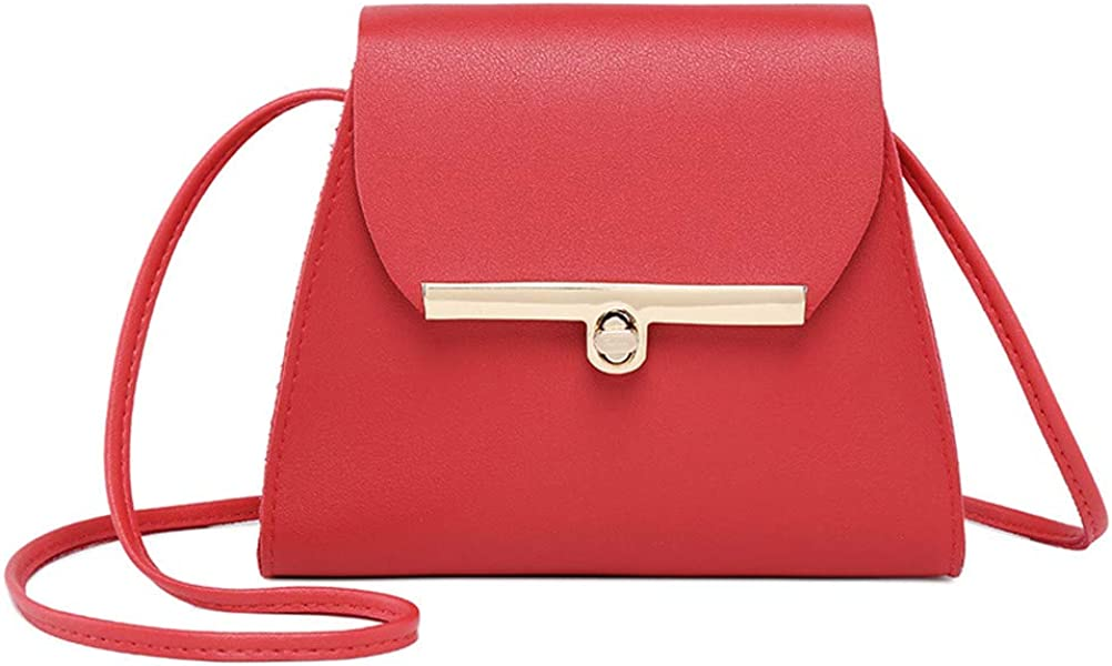 a19d2f5862 OHQ Sac à BandoulièRe Couleur Bonbon Pour Femme Messenger Bag Small Square  Bagrouge Noir Gris Rose