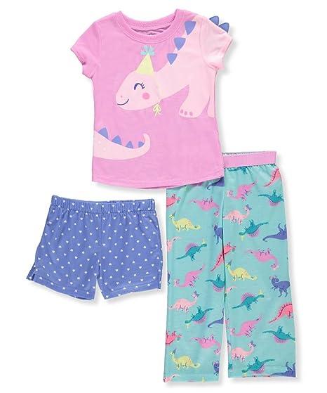 0d40929ba8 Carter s Baby Girls  3-Pc. Dinosaur Party Pajamas 12 Months Pink