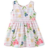 53846364db9e0 vermers Clearance Baby Girls Print Sundress - Toddler Sleeveless Floral  Straps Bow Dresses Clothes
