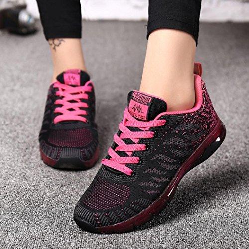 Casual De Mode Sport Air Course Cushion Basses Yoga Chaussures Lacets tudiant Pink Gym Femmes Lilicat Baskets Net Hot wxIq4PHx