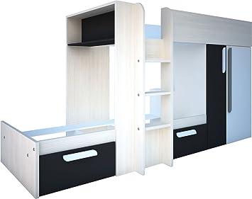 Etagenbett Trasman : Trasman bo etagenbett melaminharzbeschichtete holzspanplatten
