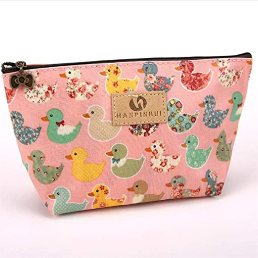 Animal Pattern Lovely Key Card Storage Earphone Container Coin Purse Wallet