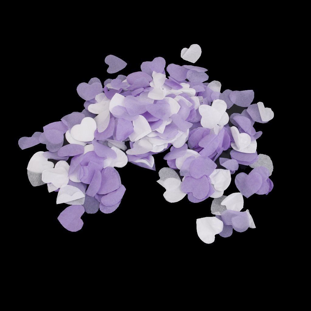 Blanc LOVIVER Mariage Jeter Confetti Papier Coeurs Amour Romantique Saint Valentin Decor 15g