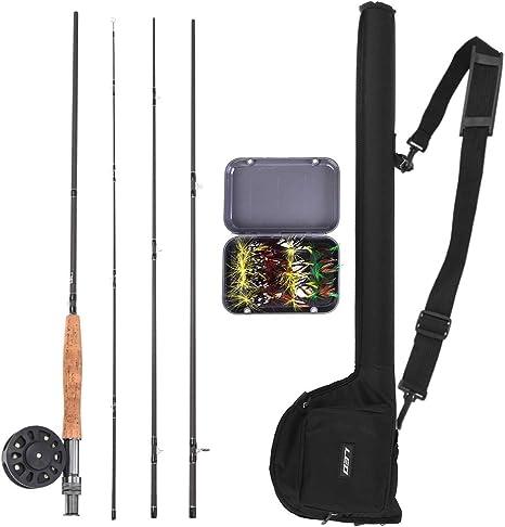 Portable Fishing Rod Bag Rod Reel Canvas Storage Tube Case Fly Fishing Tool Bag
