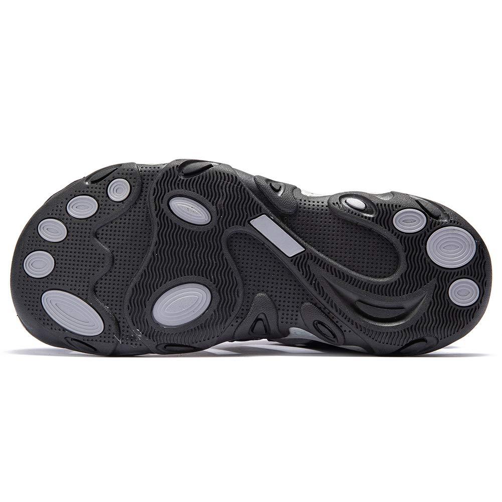 KIIU Mens Closed Toe Sandals Sport Hiking Sandal Athletic Walking Sandals Fishermen Outdoor