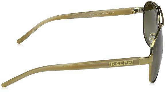 1cbff7d6556 Ralph 4004 101-13 Gold and Cream 4004 Aviator Sunglasses Lens Category 2   Amazon.ca  Shoes   Handbags