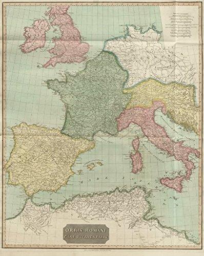 Amazoncom Orbis Romani Pars Occidentalis Roman Empire Western - Pars map