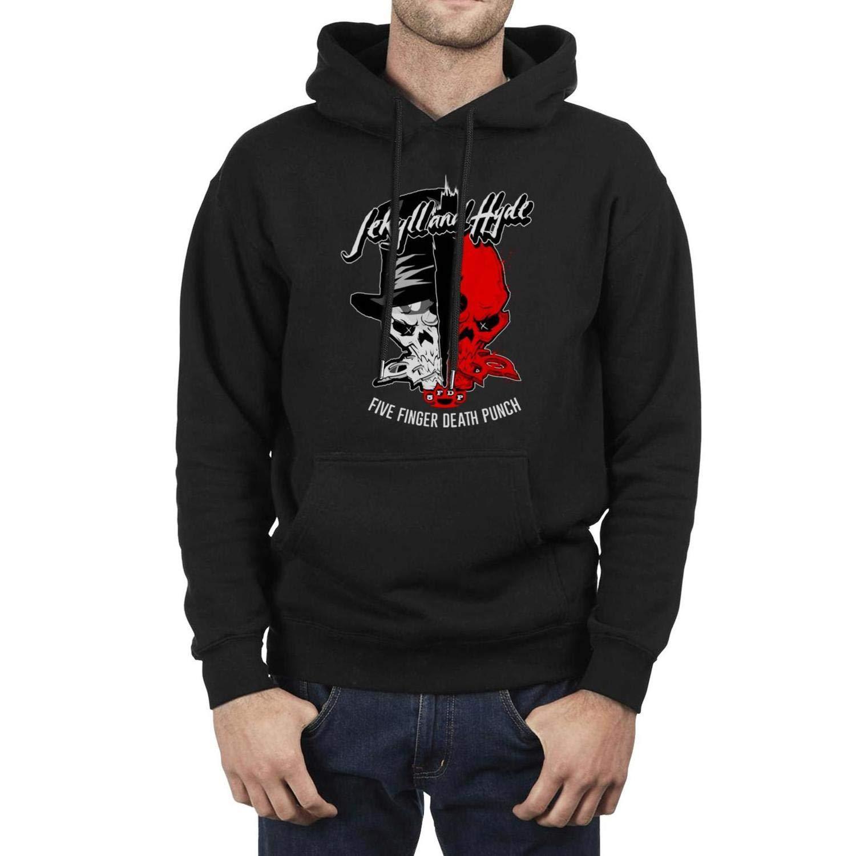 YJRTISF Big Pockets Half Dome Print Fleece Pullover Hoodie Sweatshirt for Mens
