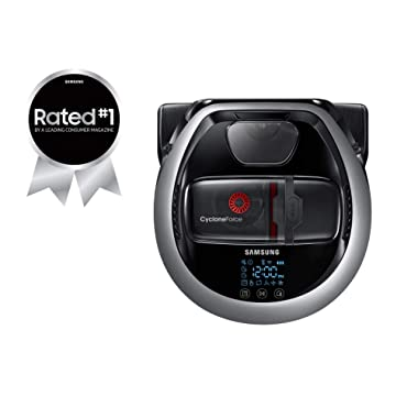 Samsung POWERbot R7065 Robot Vacuum, Wi-Fi Connectivity, Intelligent Mapping, Ideal for Carpets, Hard Floors, and Pet Hair, Works with Amazon Alexa and the Google Assistant