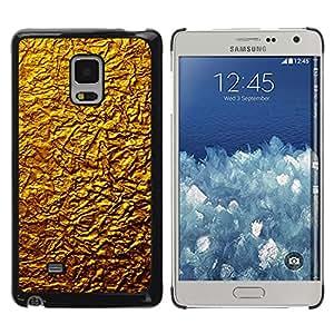 Paccase / Dura PC Caso Funda Carcasa de Protección para - Golden Wall Design Architecture Material Art - Samsung Galaxy Mega 5.8 9150 9152