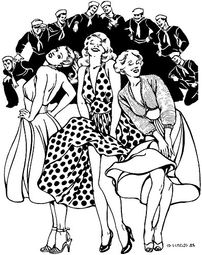 Folkwear Blonde Bombshell #239 Sundress Party Dress Halter Top Dress 1950's Sewing Pattern & Knitted Bolero Sweater Pattern (Pattern Only) folkwear239