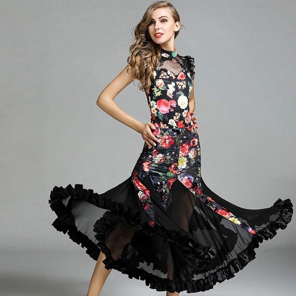 LDH Disfraces Cordón Moderno Falda de la Flor Vestido Grande ...