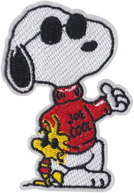 Snoopy U.S Space program Embroidered Patches Iron On Sew on Patches Kid Clothes