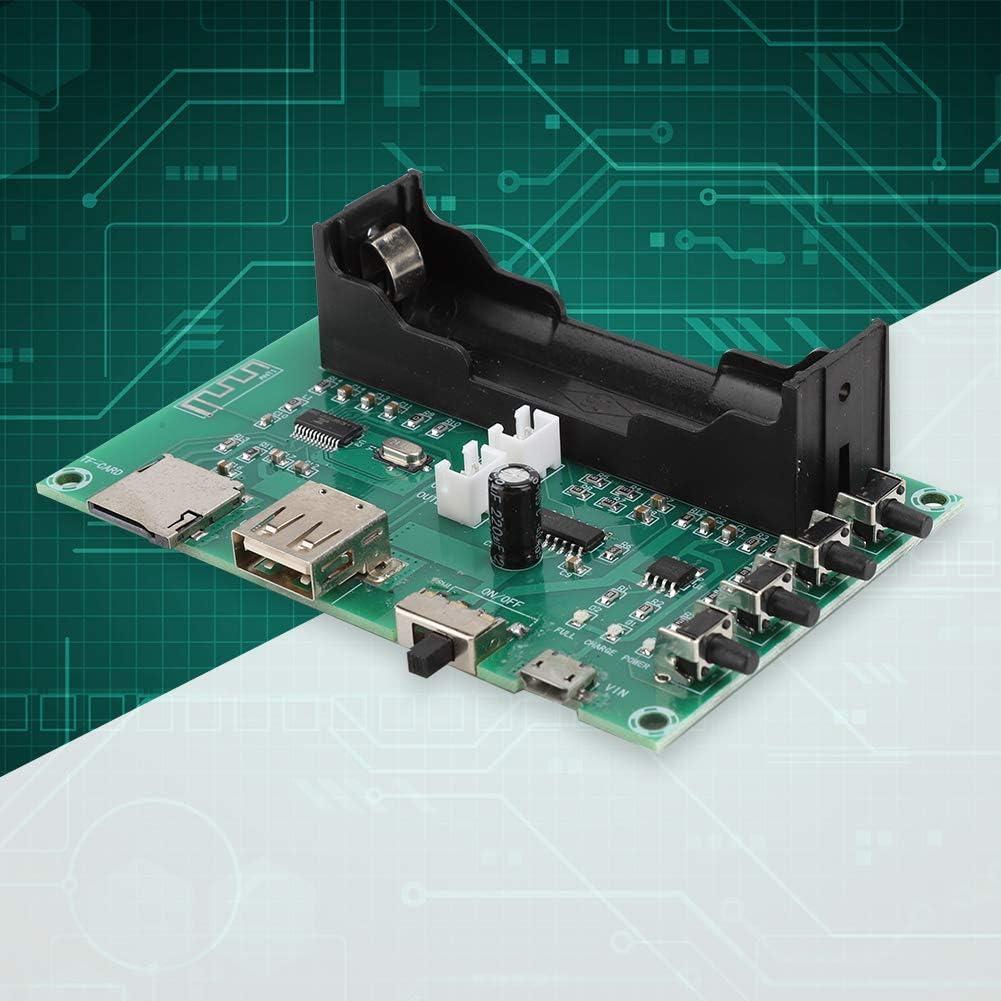 HW-433 Dual 5-W-Digital-Bluetooth-Doppelkanal-Audio-Stereo-Leistungsverst/ärkerplatine f/ür die Installation und einfache Installation Denash Verst/ärkerplatine