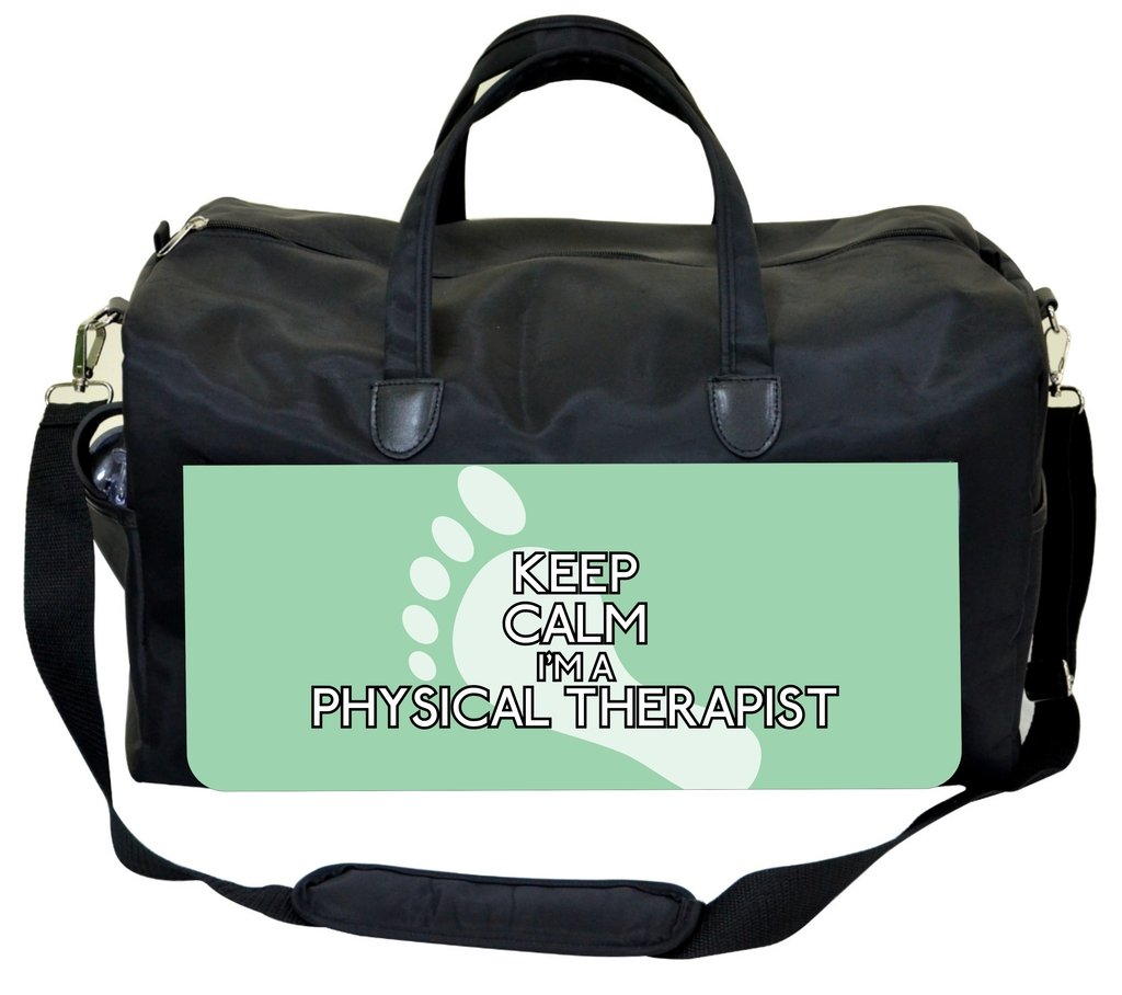 Keep Calm Im a Physical Therapist-FootPrint Jacks Outlet Physical Therapist Bag