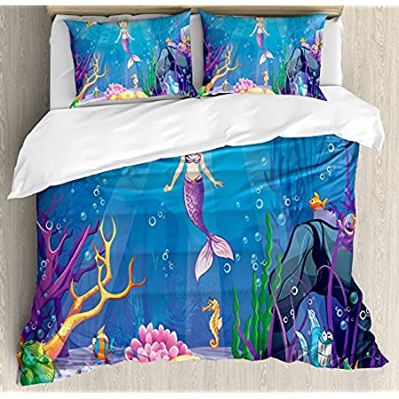 61oSpw4ym-L._SS450_ Mermaid Bedding Sets and Mermaid Comforter Sets