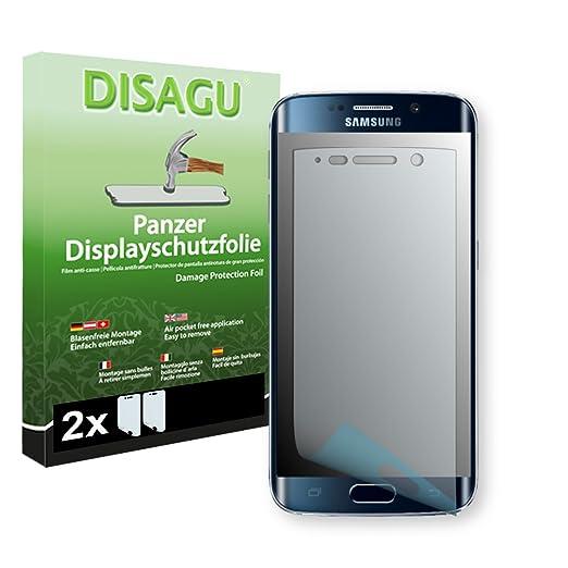 3 opinioni per 2 x DISAGU Pellicola alta protezione del display per Samsung Galaxy S6 Edge