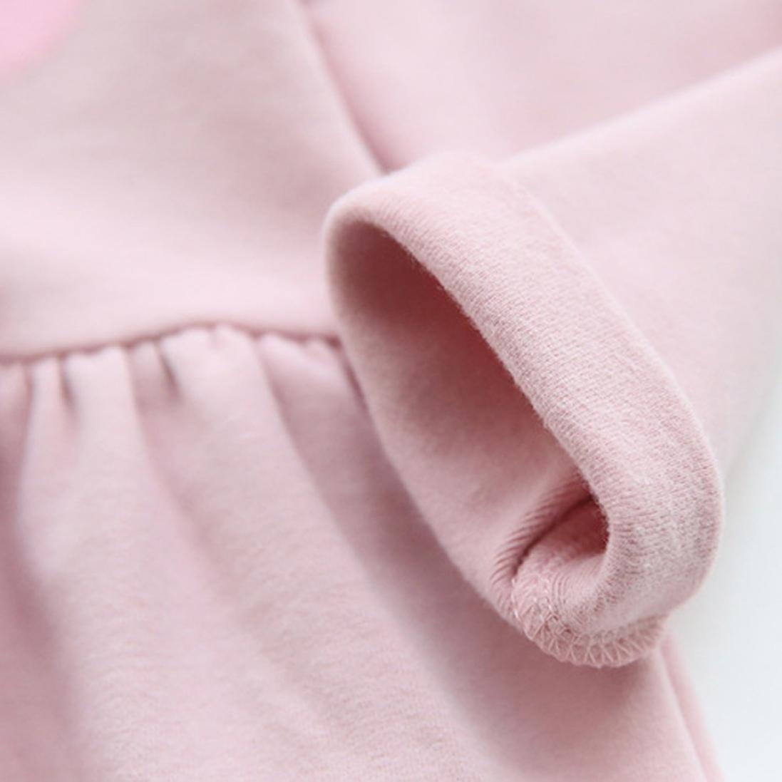 Inkach Baby Dresses Toddler Girls Long Sleeve Car Printed Pageant Princess Ruffles Dresses
