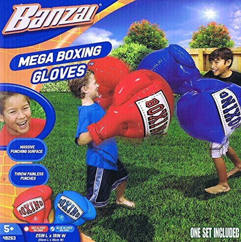 Kids Inflatable Mega Boxing Gloves (1 Pack) by Banzai